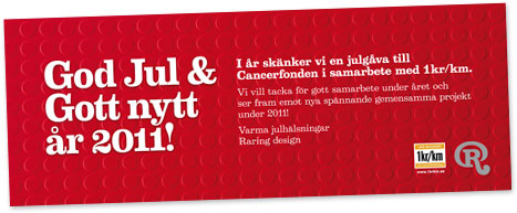 God Jul Raring Design
